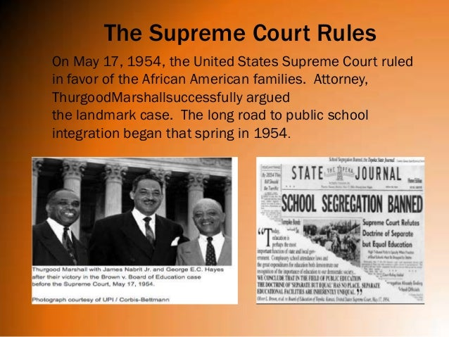 an analysis of the topic of the 1954s brown versus board of education court case The entire wikipedia with video and photo galleries for each article find something interesting to watch in seconds.