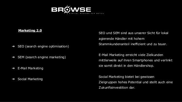 ➔ Personalisierung ➔ Emotionalisierung ➔ Big Data Marketing 3.0 In diesem Bereich liegt unserer Ansicht nach das höchste P...