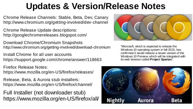 More Browser Basics, Tips & Tricks 2 Draft 17