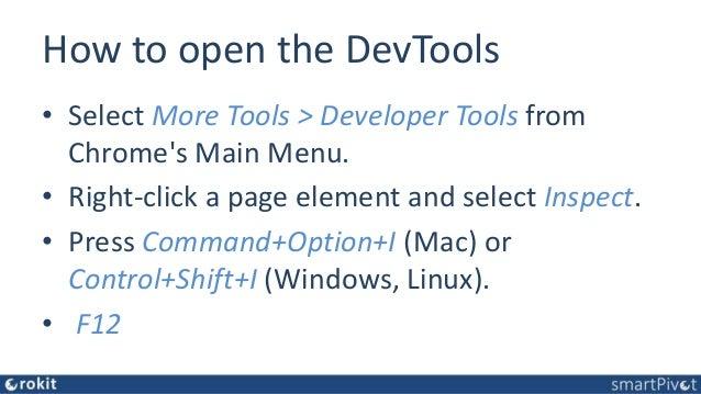 Browser Developer Tools for APEX Developers