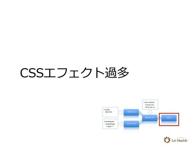 CSSエフェクト過多