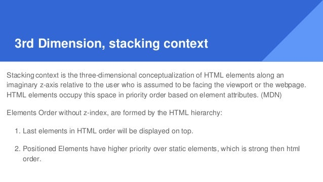 Play Time - Stacking Context no z-index. https://plnkr.co/edit/9ygOvS1BiB qsyatxcCML?p=preview