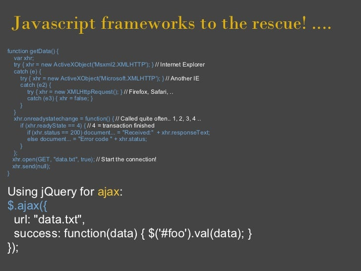 Javascript dom browsers and frameworks basics for Window onload not working in ie
