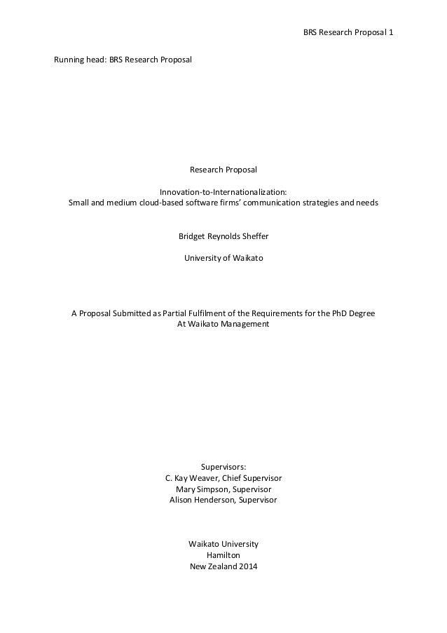 Dissertation final proposal