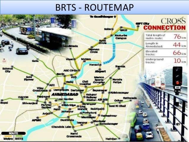 15. BRTS - ROUTEMAP ...