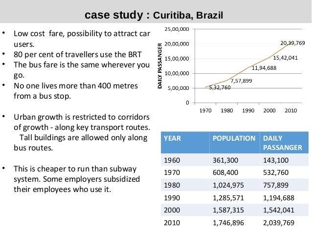 Case study - waste and traffic management scheme CURITIBA ...