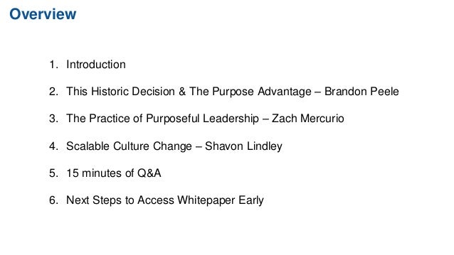5 Prove Steps to Activate a Purpose-Led Organization Slide 2