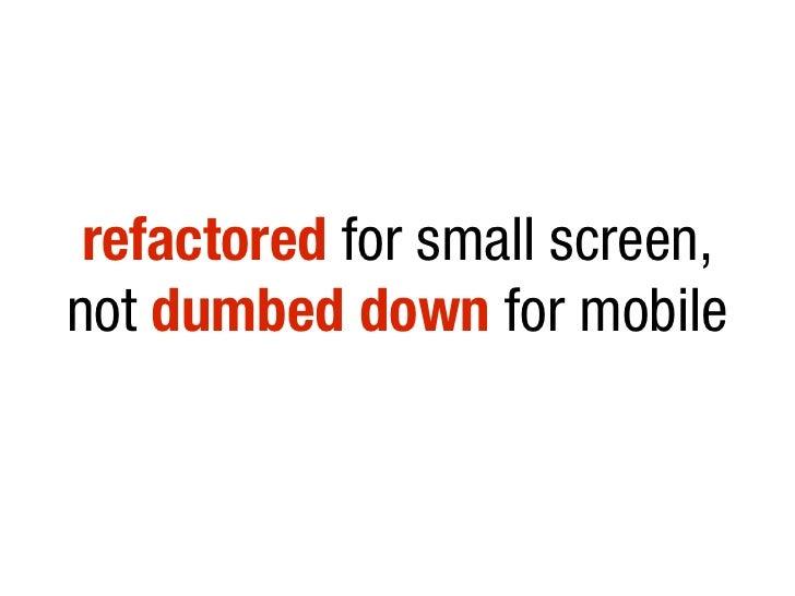 Web Anywhere: Mobile Optimisation With HTML5, CSS3, JavaScript slideshare - 웹