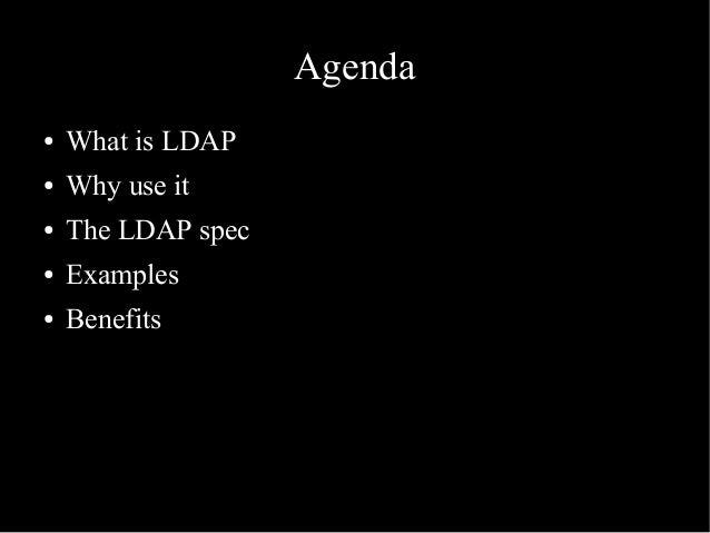 Slaps - a Smalltalk LDAP server Slide 3