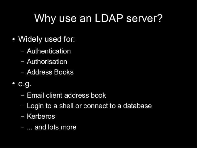 Chapter 6 OpenLDAP accesslog overlay