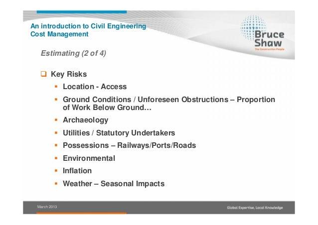 civil engineering estimating handbook