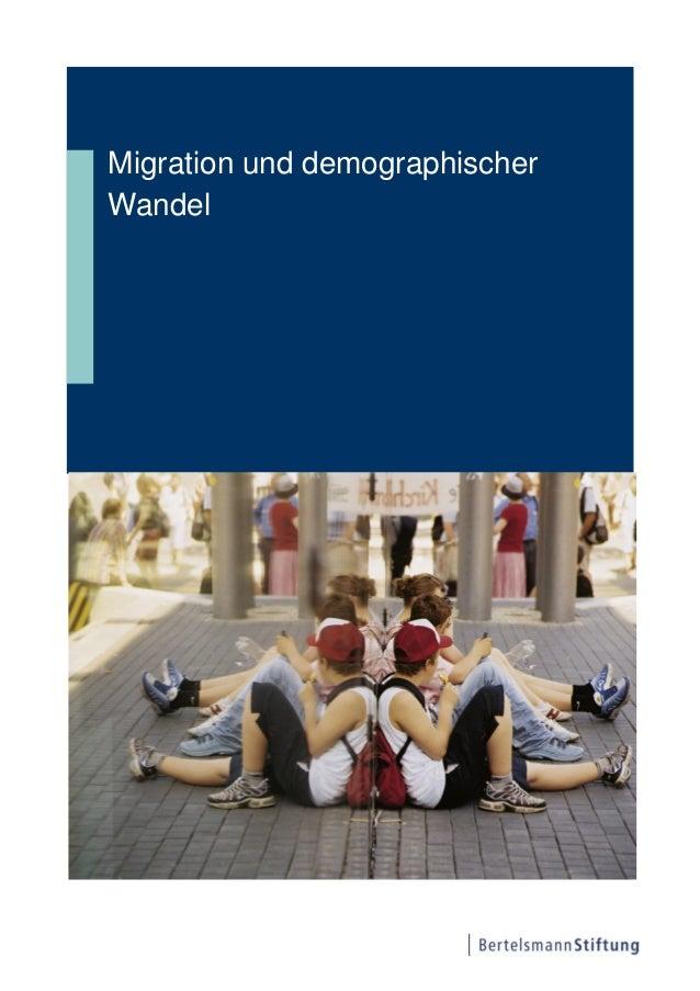 Migration und demographischerWandel