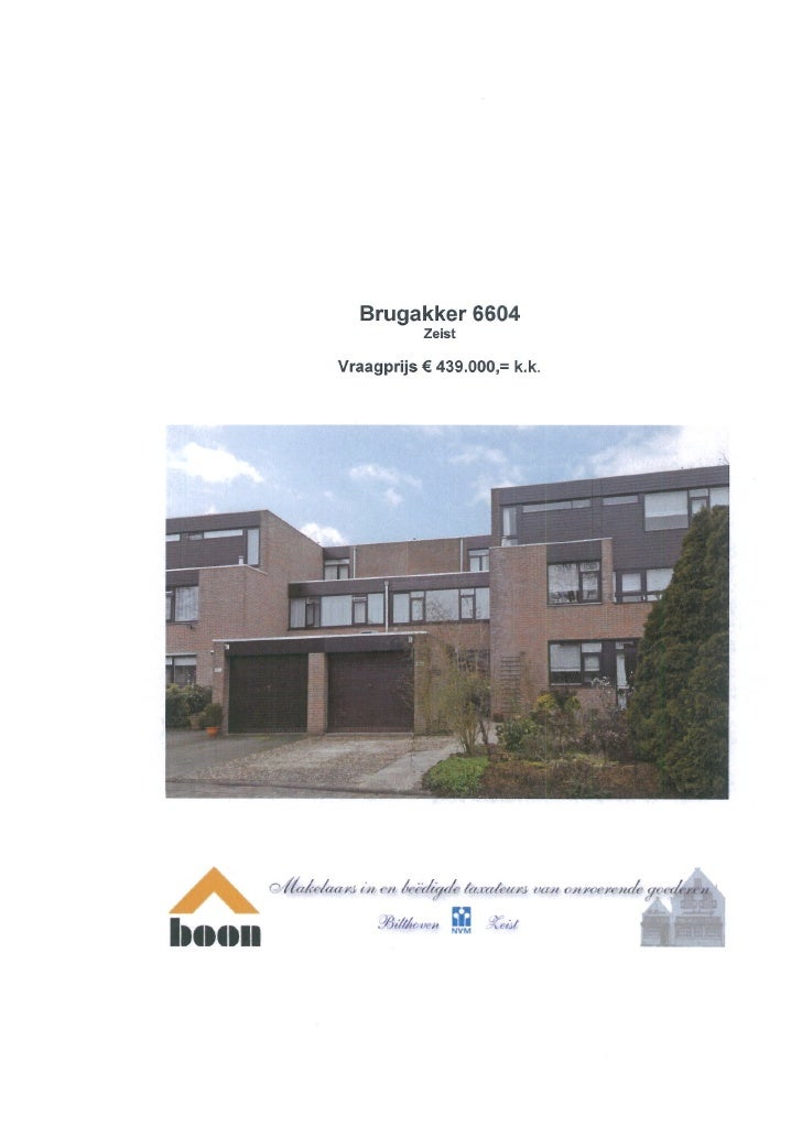 Brugakker 6604 Zeist (www.boonmakelaars.nl)
