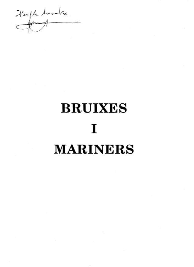 BRUIXES I MARINERS