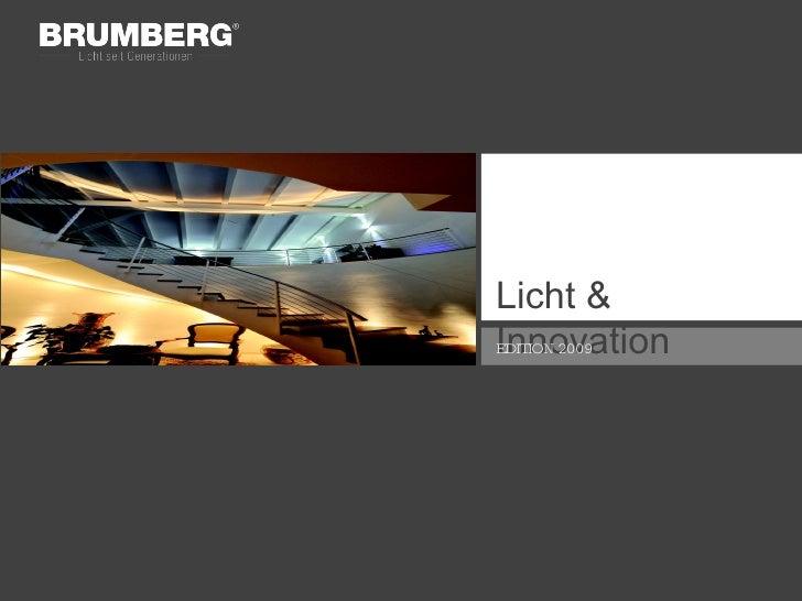 Licht & Innovation EDITION 2009