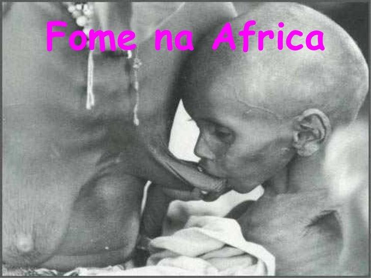 Fome na Africa