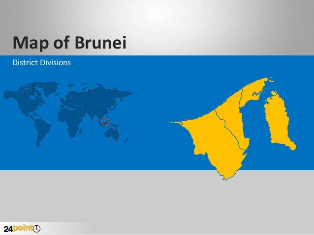 Map of Brunei District Divisions
