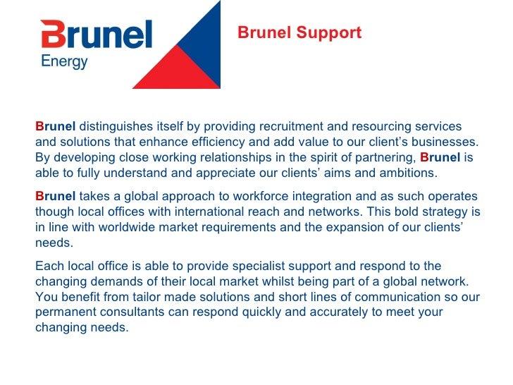 Brunel Energy 2009