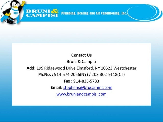 Bruni campisi plumbing heating and air conditioning for Home heating systems types