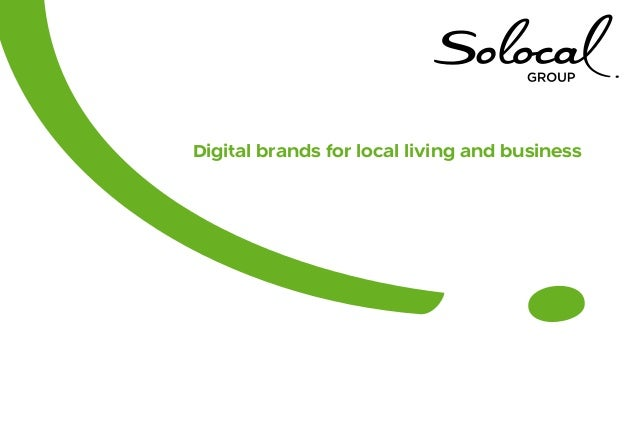 Digital brands for local living and business