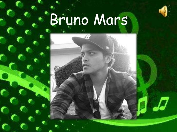 Bruno Mars<br />