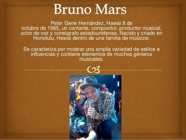 Peter Gene Hernández, Hawái 8 de octubre de 1985, un cantante, compositor, productor musical, actor de voz y coreógrafo es...