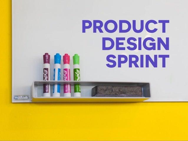 PRODUCT DESIGN SPRINT