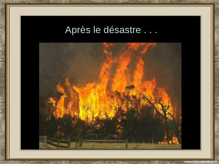 [email_address] Après le désastre . . .