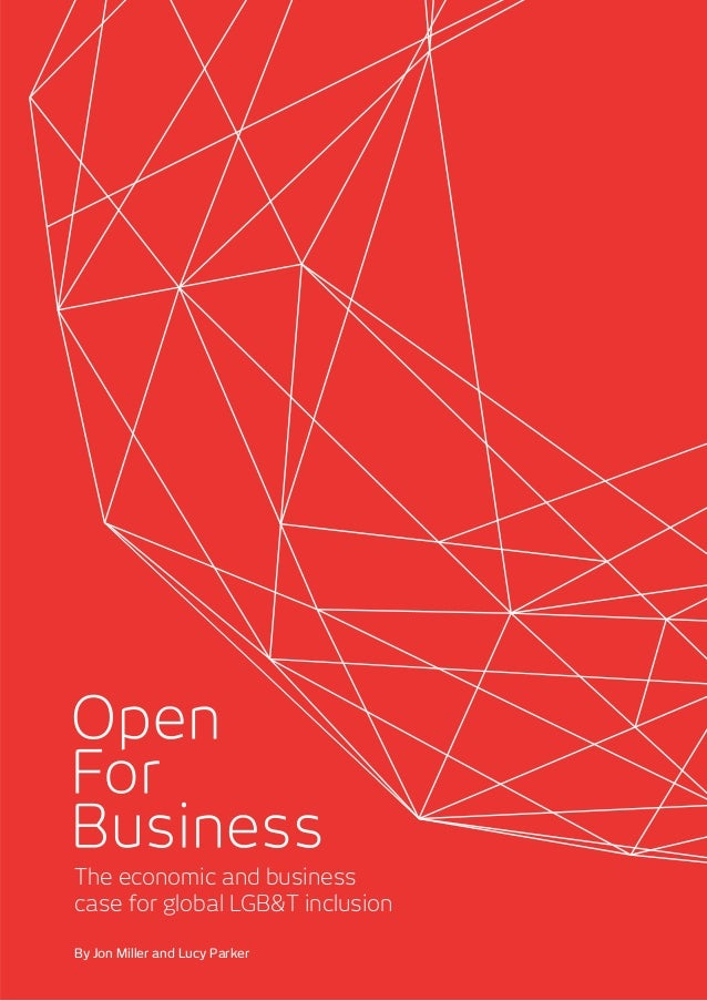 c40ec5c28c48 Open For Business - The economic   business case for global LGBT inclusion