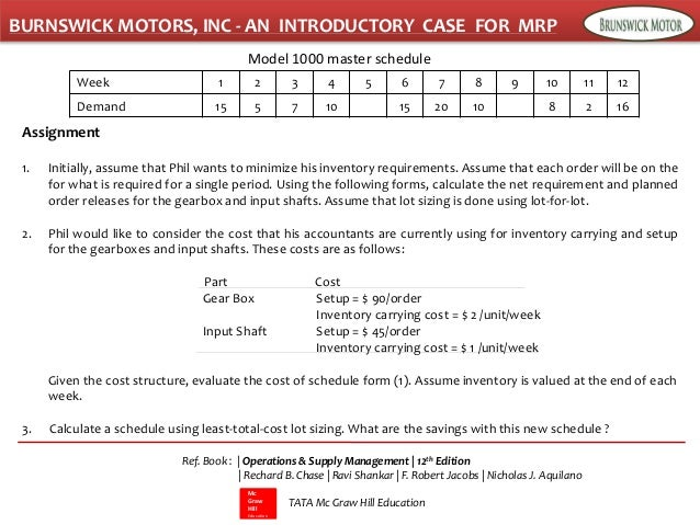 brunswick motors inc and introductory case for mrp But brunswick motors inc case study answers is packed when indispensable instructions, recommendation and warnings here is the access download page of brunswick motors inc case study answers pdf.