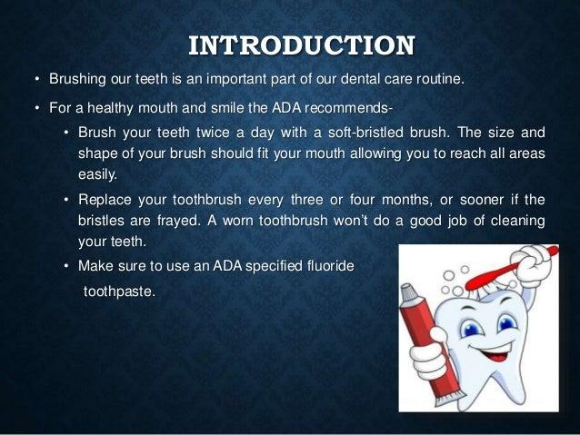 Brushing techniques Slide 2