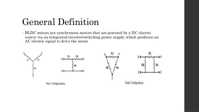 Brushless dc electric motor for Bldc motor design calculations