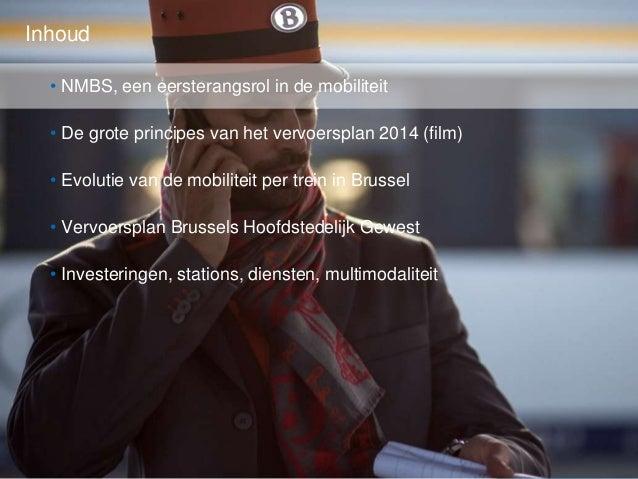 Vervoersplan 2014 Brussel  Slide 2