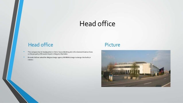 Brussels airlines - Brussels airlines head office ...