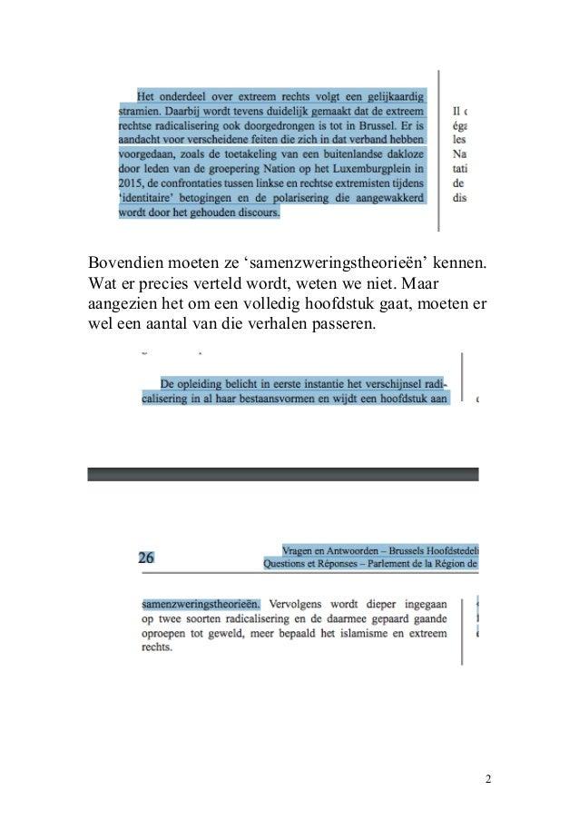Gemeenschapswachten moeten samenzweringstheorieën blokken Slide 2