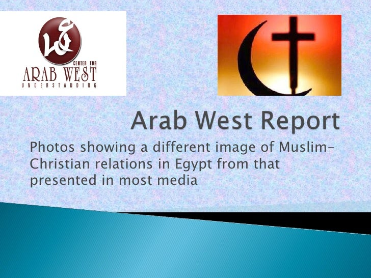 Photos showing a different image of Muslim-Christian relations in Egypt from thatpresented in most media