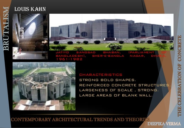 Other Images Like This! this is the related images of Characteristics Of Contemporary  Architecture