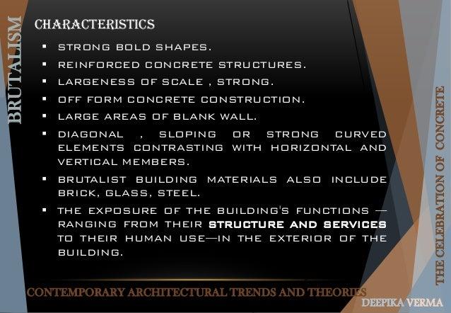 Brutalism Architecture (EXPLORING VERSATALITY OF R.C.C.)