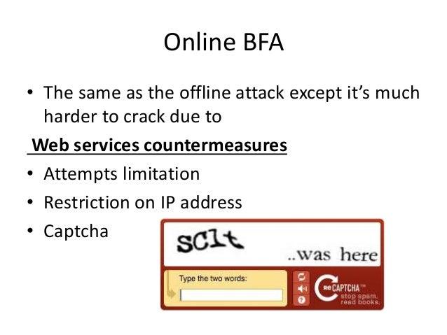 Brute force-attack presentation