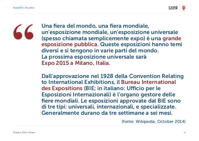Come progettare la social media strategy di un 39 istituzione for Esposizione universale expo milano 2015
