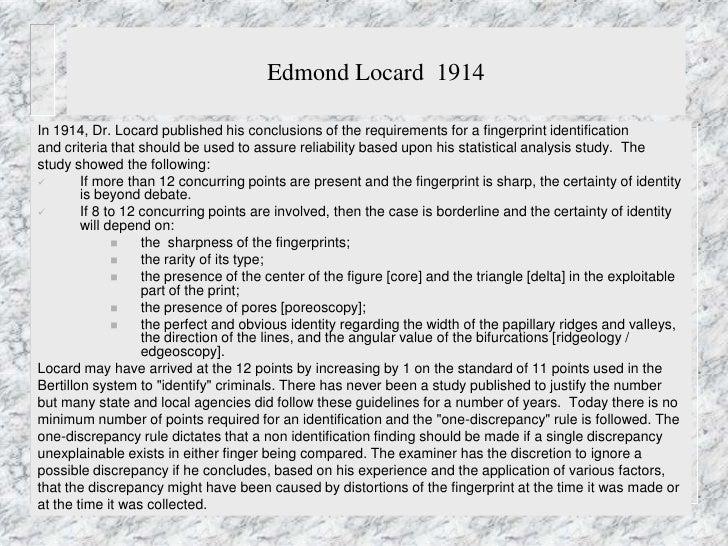 edmond locard essay