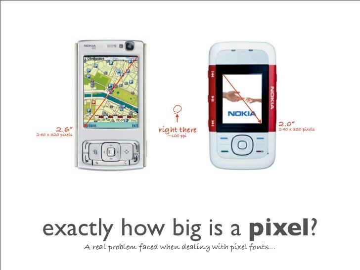 "2.0""         2.6""                           right there                         240 x 320 pixels 240 x 320 pixels         ..."