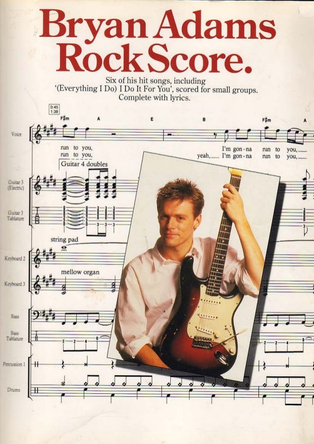 Bryan adams    rockscore