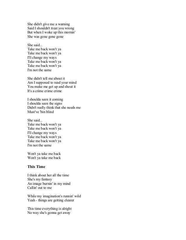Brayan Adams Song Lyrics (nobody) the one that you love, the one that you need. brayan adams song lyrics