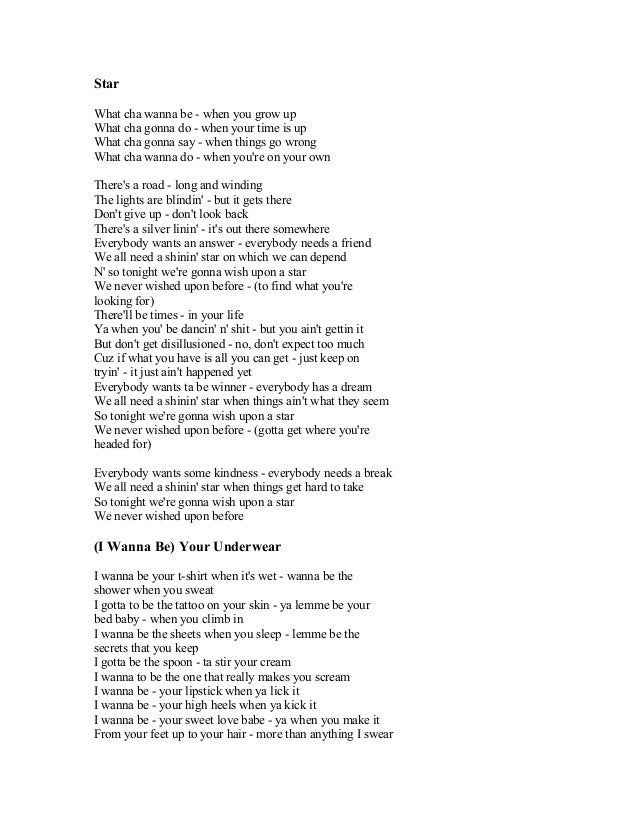 Lyric make your own lyrics : BRAYAN ADAMS SONG LYRICS