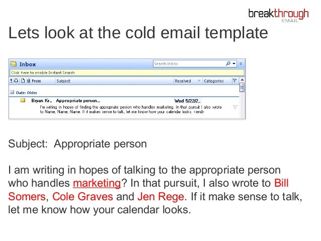 Cold Emailing: How I Discovered the Secret to Cold Emailing - Bryan K…