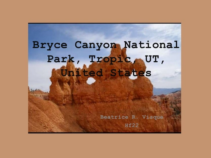 Bryce Canyon National Park, Tropic, UT, United States<br />Beatrice R. Visque<br />Hf22<br />