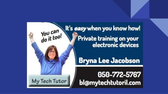 Bryna Lee Jacobson 10 Ways to Let Your Smartphone Know Who's Boss Presented by...