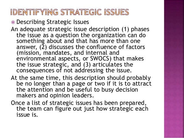 What are the strategic dilemmas facing
