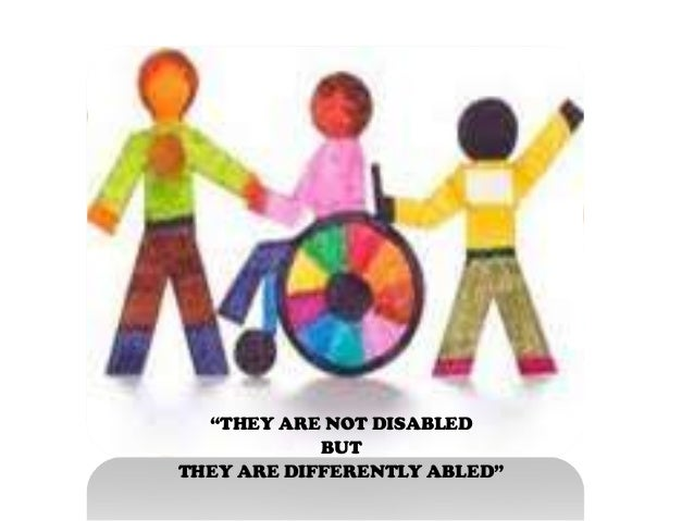 short essay on differently abled and higher education Free 750 words essay on recent changes in education system of india for school and college students it is a scheme developed by aicte that provides scholarships to differently abled students higher education financing agency.
